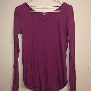 Under Armour Tops - Cute Purple Long Sleeve
